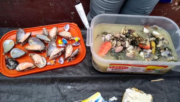 Trujillo: intervienen a dos personas por querer pasar droga a penal en sudado de pescado (Foto: INPE)