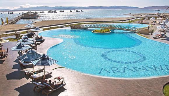 El hotel Aranwa de Paracas fue uno de los que más ganó con los Juegos Panamericanos Lima 2019 por los deportes náuticos que se realizaron en la ciudad. (Foto: Aranwa)