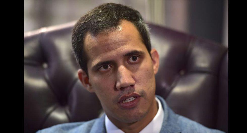 Venezuela: Juan Guaidó dice que la Asamblea Nacional podría aprobar una intervención de Estados Unidos. (AFP).
