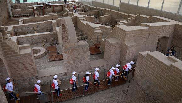 Los niños podrán visitar museos y sitios arqueológicos cumpliendo estrictamente los protocolos de bioseguridad.