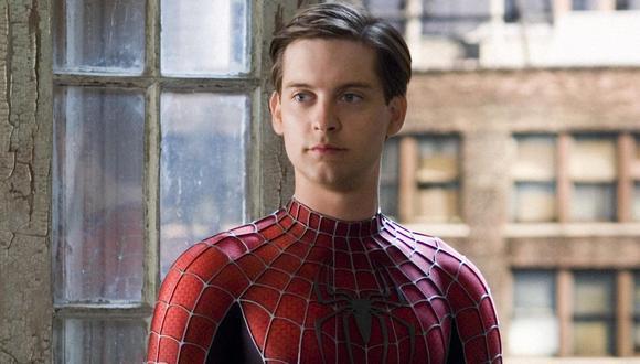 Tobey Maguire interpretó durante tres películas al Hombre Araña, desde el 2002 hasta el 2007 (Foto: Sony Pictures)