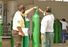 Lambayeque: un equipo especial verificará uso adecuado de balones de oxígeno en los domicilios