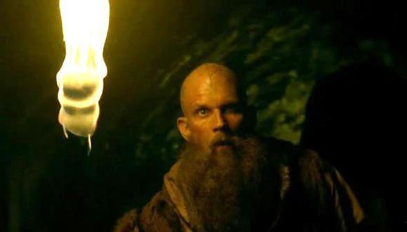 """Floki de """"Vikings"""" es interpretado por el actor Gustaf Skarsgard (Foto: Netflix)"""