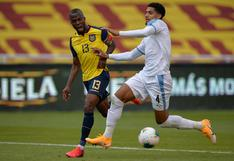 Ecuador consigue su primer triunfo, tras vencer a Uruguay por Eliminatorias Qatar 2022 en Quito