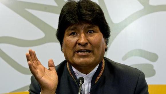 """Evo Morales confía en La Haya para resolver """"invasión"""" chilena"""