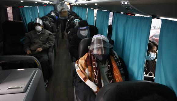 Todos los pasajeros deben contar con una declaración jurada de salud. (Foto: GEC)
