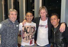 Selección peruana: Ricardo Gareca y Néstor Bonillo se juntaron con Yotún y Cueva