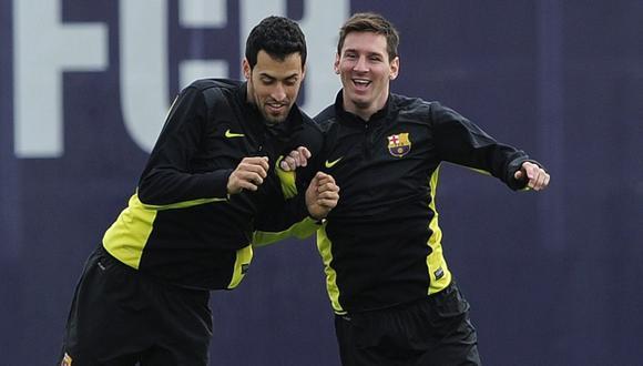 Sergio Busquets es el nuevo capitán del FC Barcelona. (Foto: AFP)