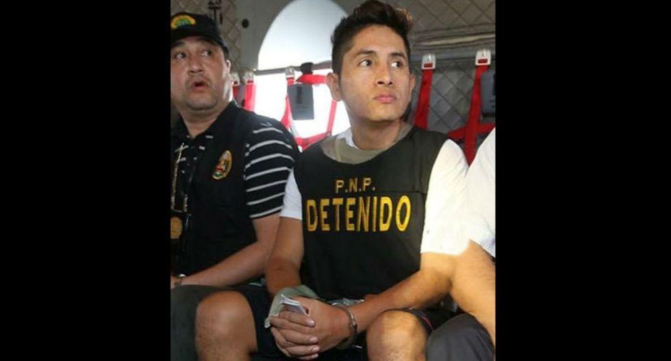 Gerald Oropeza cumple prisión preventiva en penal de Challapalca, en Tacna.
