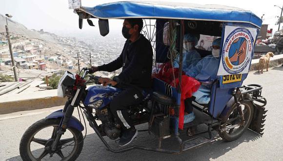 Estos pequeños vehículos no solo servirán para transportar a vecinos y personal de salud, ahora serán utilizados para contrarrestar a la delincuencia. (Foto: archivo/GEC)