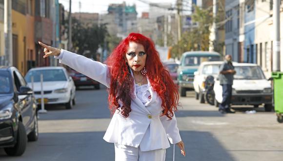 """Monique Pardo preocupada tras su caída en """"El Artista del Año"""": """"Fue un atentado contra mi vida"""". (Foto: GEC/CESAR BUENO)"""
