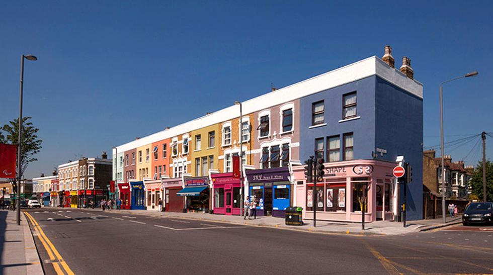 Arquitectos convierten calle de Londres en una 'obra de arte' - 1