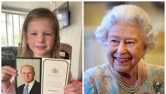 Erin le mandó carta a la reina Isabel II del Reino Unido por la muerte de Felipe de Edimburgo. (Foto: Nicola Bywater | AFP)
