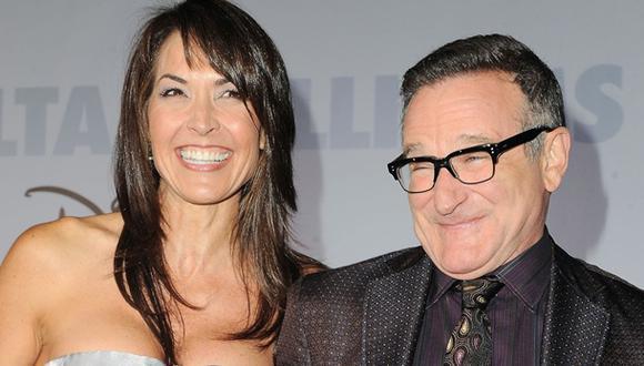 Viuda de Robin Williams publica conmovedora carta sobre actor