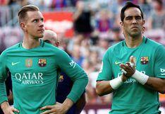 Barcelona: el récord que Ter Stegen le arrebató a Claudio Bravo tras su penal atajado al Valencia en LaLiga