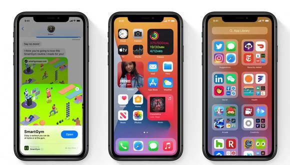 Conoce los pasos para que las aplicaciones se bajen automáticamente en tu iPhone. (Foto: Apple)