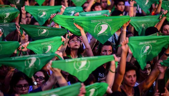 Legalización del aborto en Argentina: La histórica votación que tiene en  ascuas a un país polarizado | MUNDO | EL COMERCIO PERÚ