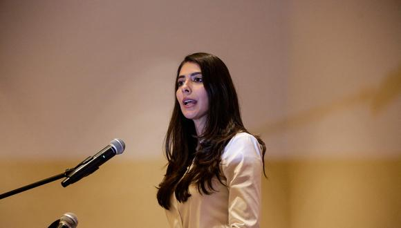 La Procuraduría para la Defensa de los Derechos Humanos denuncia a Berenice Quezada por supuesta apología del delito e incitación al odio. (Foto: Oswaldo Rivas / AFP)