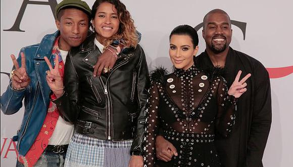 "Pharrell Williams salvó a Kim Kardashian de ""morir quemada"""