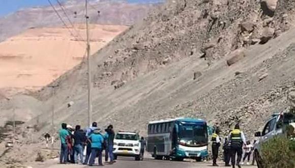 Arequipa: capturan a tres asaltantes en medio de una balacera