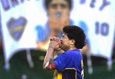 Maradona y el discurso más emotivo de su vida