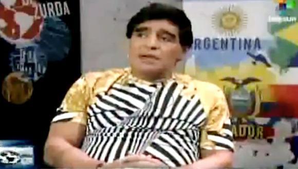 """Maradona: Pelé y Beckenbauer dicen """"estupideces y son tarados"""""""