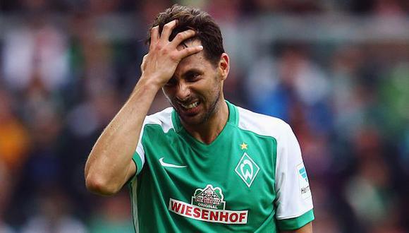 Sin Pizarro: Werder Bremen vs. Borussia Dortmund por Bundesliga