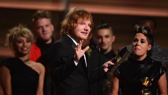 Grammy 2016: Ed Sheeran ganó el premio a la Canción del Año