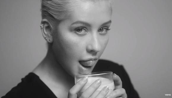 """Christina Aguilera en el video de """"Accelerate"""". (Foto: Captura de pantalla/ YouTube)"""