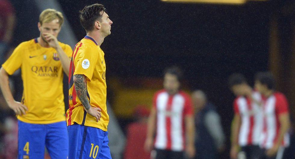 La desazón del Barcelona y la alegría del Athletic tras 4-0 - 3