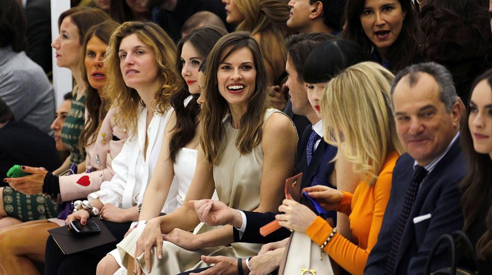 Las famosas en el 'front row' de la Semana de la Moda de Milán - 1