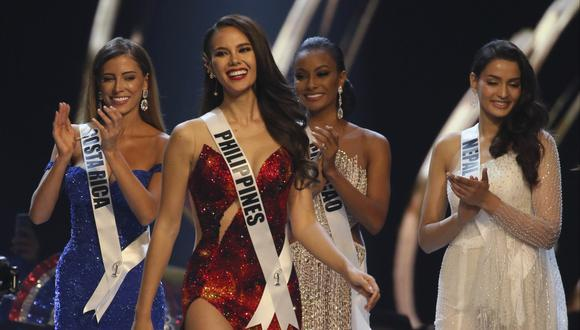 Miss Filipinas Catriona Gray (Foto: Reuters)
