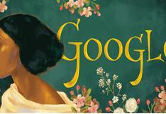 Fanny Eaton: Google rinde homenaje con un doodle a la musa jamaicana-británica