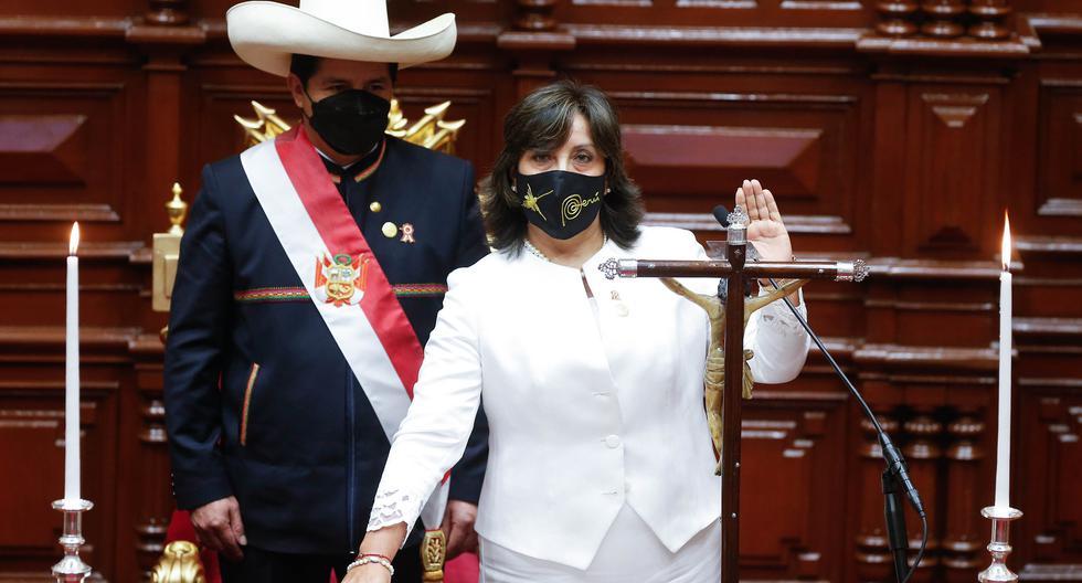 Boluarte, tras ser designada por Castillo, se ha dedicado exclusivamente esta última semana a coordinar el proceso de transferencia en representación de Perú Libre.  (Foto: Presidencia de la República)
