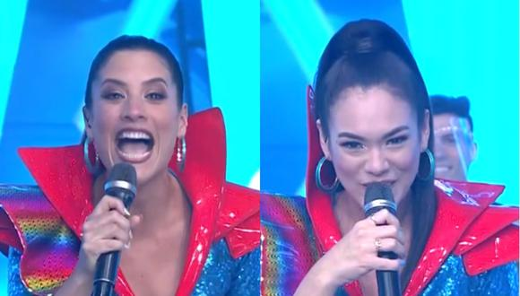 """Esto es guerra"" rindió homenaje a ""Nubeluz"". (Foto: Captura América TV)"