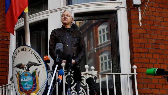 Julian Assange, refugiado desde hace 2.487 días en la embajada de Ecuador en Londres... ¿y ahora que viene para el fundador de WikiLeaks? (Reuters).