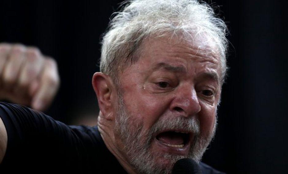 Lula, quien gobernó Brasil entre 2003 y 2010 , ya fue condenado en segunda instancia a 12 años por corrupción pasiva y lavado de dinero. (Foto: EFE)