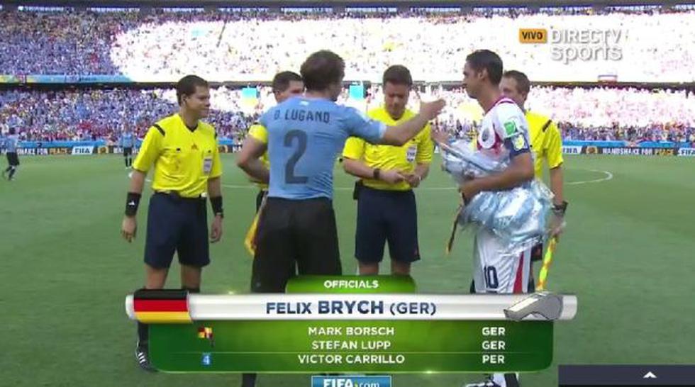 Uruguay vs. Costa Rica: peruano Carrillo es el cuarto árbitro - 1