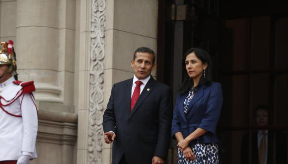 """""""[Ollanta Humala y Nadine Heredia] le entregaron la obra [a Odebrecht] en una licitación más que sospechosa en la que el otro postor fue eliminado el mismo día que conocieron las ofertas"""". (Foto: Archivo El Comercio)."""