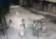 Colombia: revelan video de los 7 jóvenes minutos antes de ser arrollados