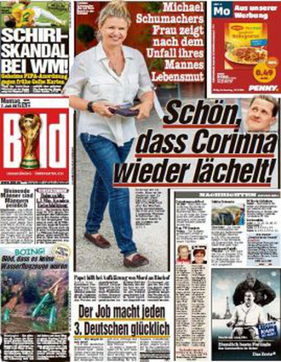 """Schumacher mejora """"lentamente"""", dice su esposa Corinna - 1"""