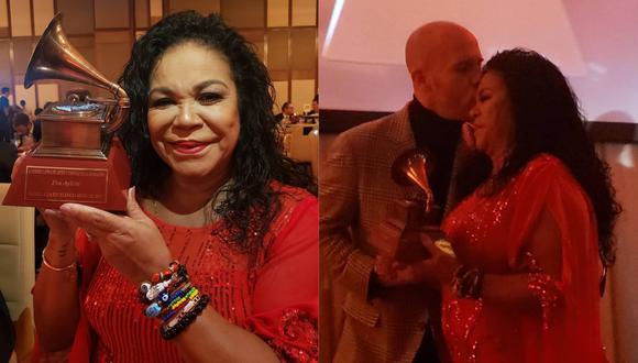 Eva Ayllón recibió premio a la Excelencia Musical (Foto: Instagram)