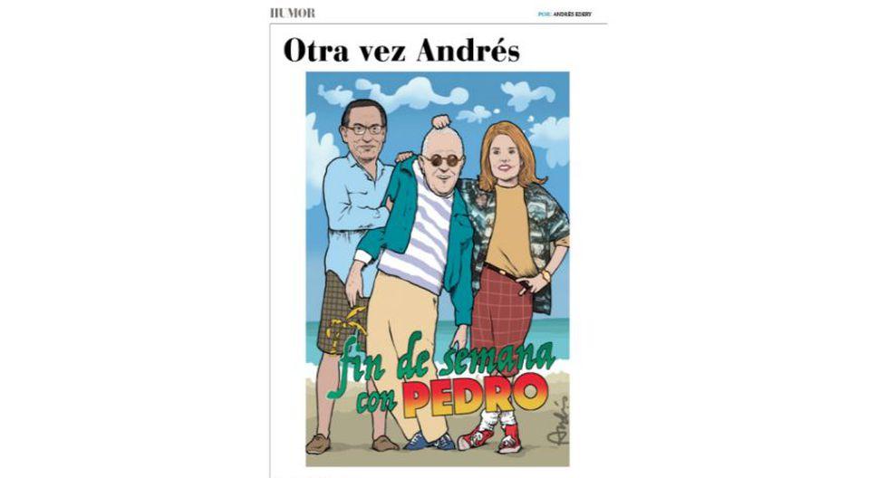Otra vez Andrés: las caricaturas en Somos de las que todo el mundo habla.