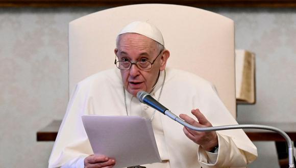 El papa Francisco. (Foto: AFP).
