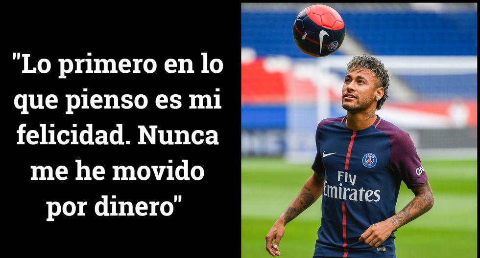 Neymar Y Las 10 Mejores Frases Durante Su Presentación Con