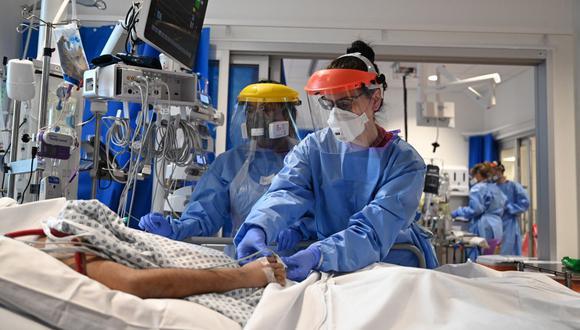 Coronavirus en Reino Unido | Últimas noticias | Último minuto: reporte de infectados y muertos hoy, martes 29 de diciembre del 2020. (Foto: Neil HALL / POOL / AFP).