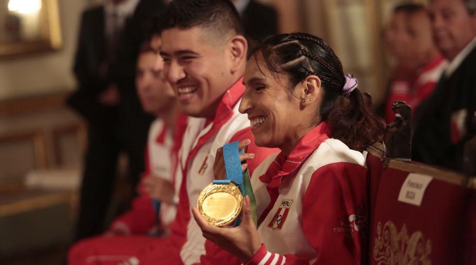 Medallistas de Toronto 2015 condecorados en Palacio (FOTOS) - 1
