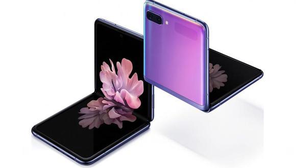 Samsung Galaxy Z Flip. (Foto: GSM Arena)
