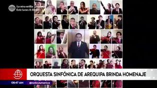 La Orquesta Sinfónica de Arequipa rindió homenaje al Perú