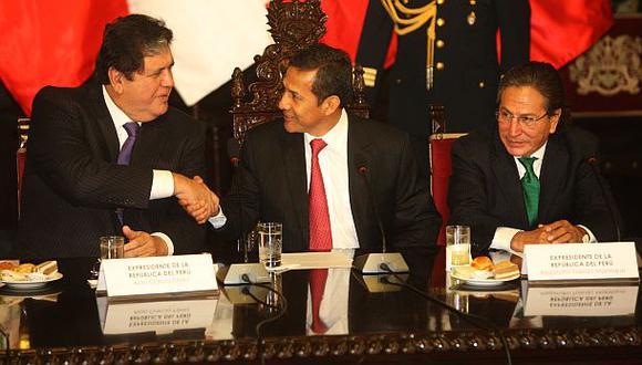 Apra y Perú Posible resaltan unidad de ex mandatarios por fallo